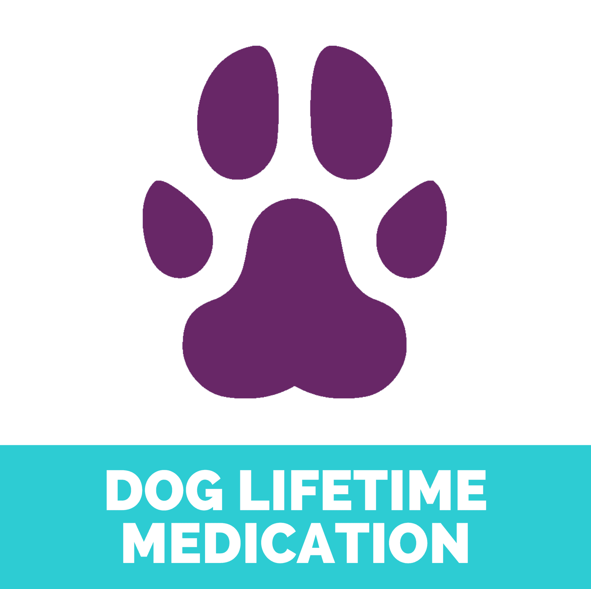 Dog lifetime medication