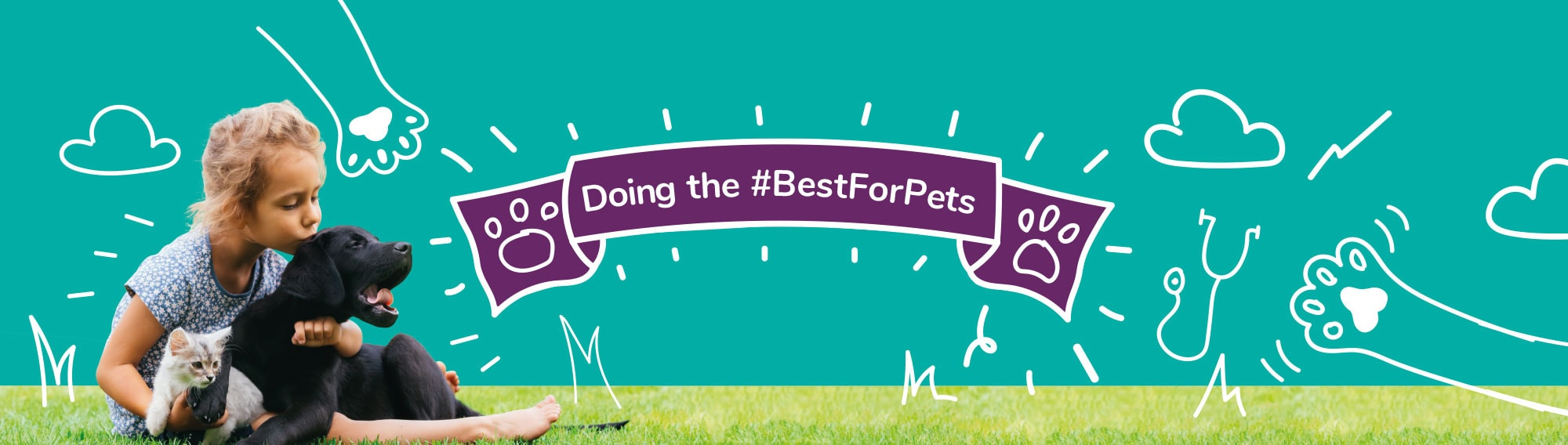 Doing the #BestForPets