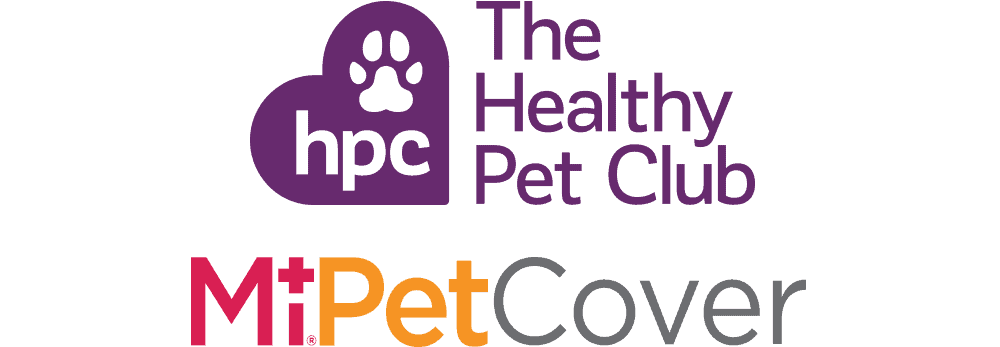 Healthy Pet Club and MiPet Cover logos