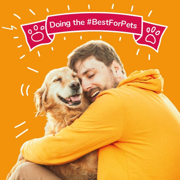 Man and his dog - Doing the #BestForPets